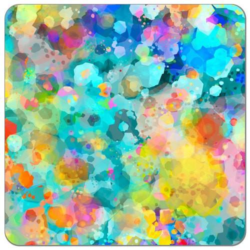 SHL - confetti glass