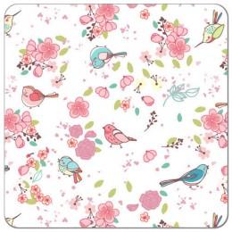 SHL - oiseaux et fleurs