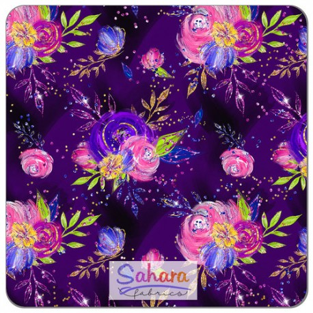 SHL - violet fleuri