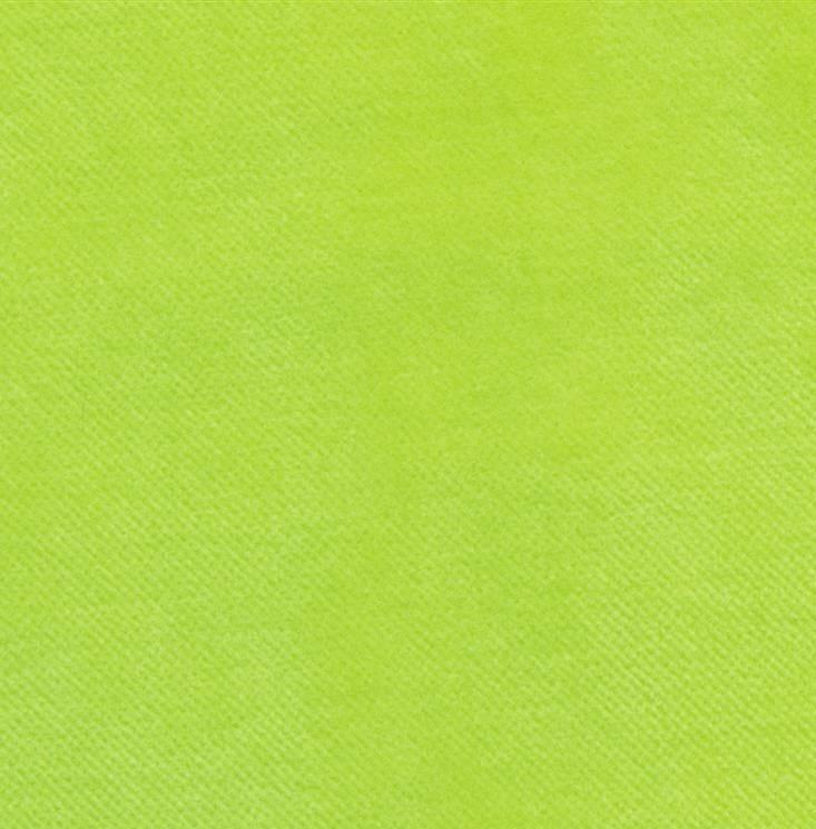 Velours bio vert lime